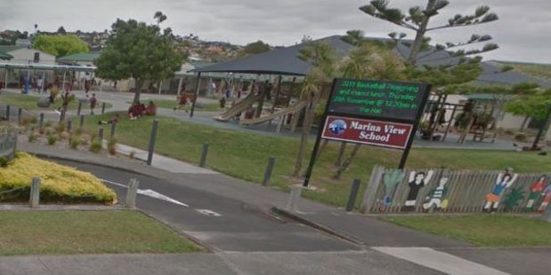 Marina View School is also affected by the Corrections' warning. Photo / Google Street View