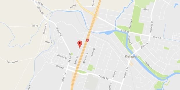 A Kaiapoi home has been badly damaged by fire in an overnight blaze.  Photo / via googlemaps
