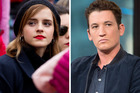 Emma Watson and Miles Teller who missed out on the Oscar-nominated film, La La Land. Photos / AP, Getty Images