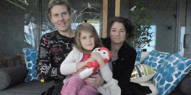 Roland Matthews, pictured with his wife Andrea and daughter Isabella, needs treatment in Moscow. Photo / Supplied