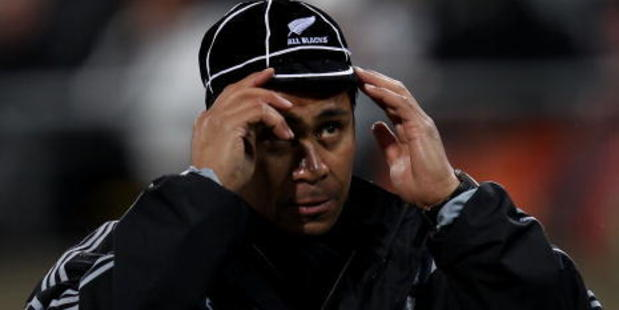 Alama Ieremia played for the All Blacks between 1994-2000. Photo / Getty