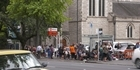 Watch: Focus: Desperate families queue for hours outside City Mission