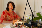 Emma Pearce-Hagen, of Inkberry Calligraphy, has been doing calligraphy for more than 30 years. Photo / John Hagen Productions