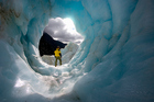 Franz Josef Glacier has advanced 50m since last December, after retreating some 1.4km since 2008. Photo / Getty Images
