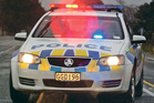 Police are currently attending a crash on Fitzgerald Rd in Drury where a truck has driven off the road.