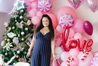 Vanessa Goodson, of OMGNess Styling, decorated a baby shower for All Black Julian Savea's wife, Fatima Savea. Photo / Nikki Deles