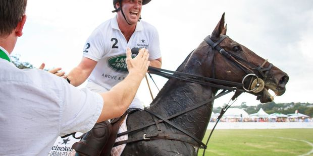 Urban Polo will allow fans to get close to the action and high five players will the games are in action. Photo / Supplied.