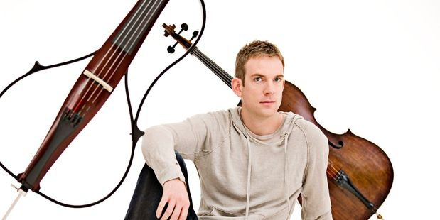 Cellist Johannes Moser. Photo / Supplied
