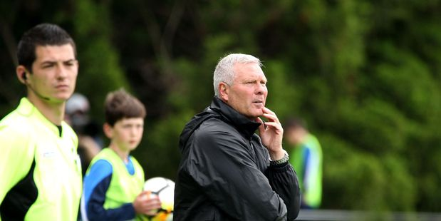 Hamilton Wanderers coach Ricki Herbert has called Hamilton Wanderers a long term project which could take five years. Photo / Grant Stantiall