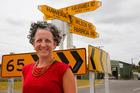 Jacq Dwyer has a lot of love for the South Taranaki town where her family still farms. Photo/Bevan Conley