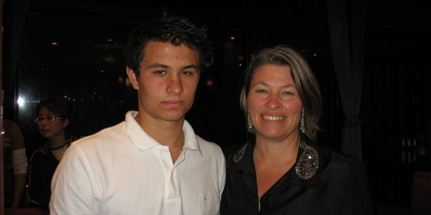 Loading Sharon Harvey, right, with her son, Cem Erbay, who died after becoming lost on early on New Year's Day 2011. Photo / Supplied