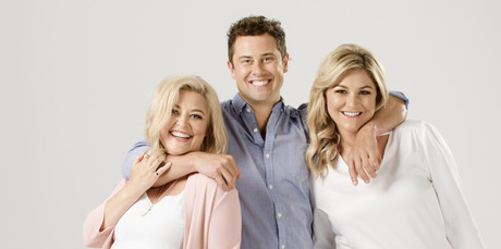 Sarah Gandy, Sam Wallace and Toni Street host The Hits new Auckland breakfast show: Sarah, Sam and Toni.