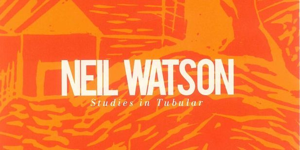 Cover art for Studies in Tubular, the new record from jazz guitarist Neil Watson