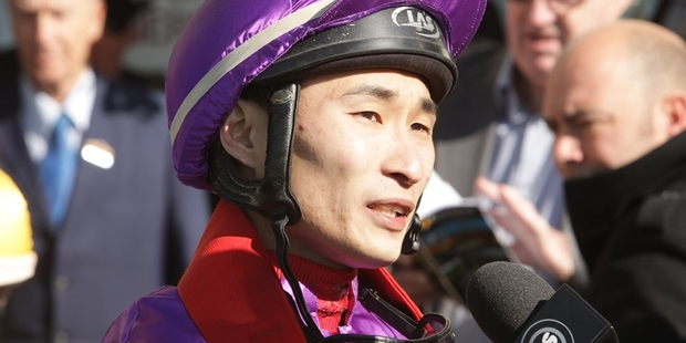 Asian jockeys such as Tanaka are becoming much more visible on the New Zealand racing scene. Photo / Trish Dunell