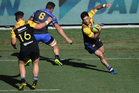 Nehe Milner-Skudder in action for the Hurricanes during their unlikely win over the Force. Photo / photosport.nz