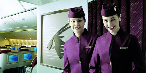 Qatar Airways' crew come from about 112 different countries