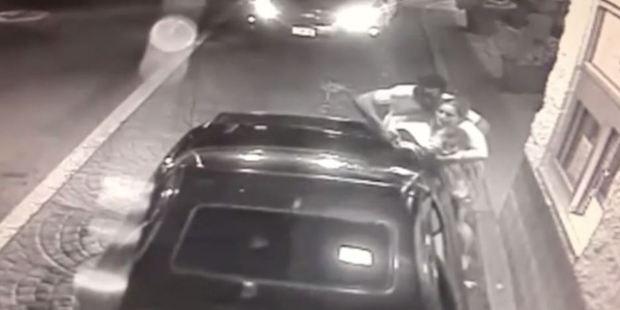 Prosecutors said the woman was badly beaten before the incident at McDonald's. Photo / McDonald's CCTV