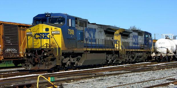 Train yard in pensacola, florida. Photo / 123RF