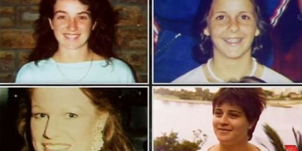 The Birnies murdered Sussannah Candy, 15, Denise Brown, 21, Mary Neilson, 22, and Noelene Patterson, 31. Photo / 7 News