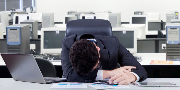 Might be time to make some changes in your job. Photo / 123rf