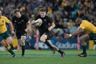 Given Beauden Barrett and the All Blacks won by a record 42-8 in Australia last August, they had little need to try and put the Wallabies off their game. Photo / Brett Phibbs