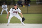 Black Sox short stop Cole Evans impressed in a brief baseball stint. Photo / Dean Purcell