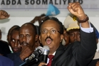 Mohamed Abdullahi Farmajo says he will fight corruption. Photo / AP
