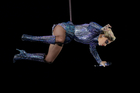 Lady Gaga performs during her Super Bowl half time show. Photo/AP
