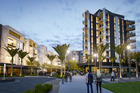 Alexandra Park has sold all 246 apartments in stage one and two of its residential development at the Auckland Trotting Club in Epsom. Illustration / supplied.