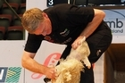 Prime Minister Bill English earned the first major victory of election year today when he beat shearing legend Sir David Fagan in a one-sheep-match on the final afternoon of the four-day 40th anniversary World Shearing and Woolhandling Championships in ILT Stadium Southland, Invercargill.