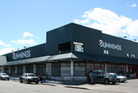 Bunnings Hastings sits on 7178sq m of land at the corner of Market St North and St Aubyn St. Photo / Supplied
