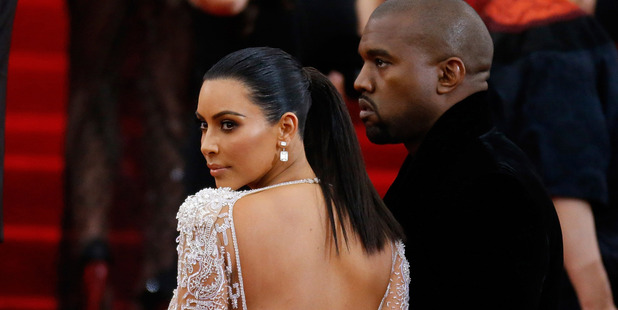 Kanye West and Kim Kardashian attended the Met Gala. Photo / Getty
