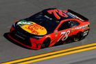 Martin Truex Jr. practices for the NASCAR Sprint Cup Series Daytona 500. Photo / AP