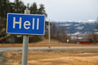 In Norway, Hell freezes over for several months each year. Photo / Getty Images
