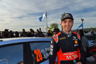 Hayden Paddon during the WRC Argentina. Photo / Getty Images