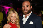 Kylie Minogue's ex Joshua Sasse deliberately moved into her hotel to pursue her, it's been claimed. Photo / Getty Images