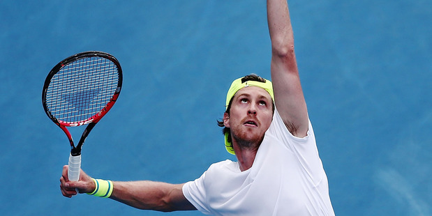 Kiwi tennis player Marcus Daniell. Photo / Getty Images.