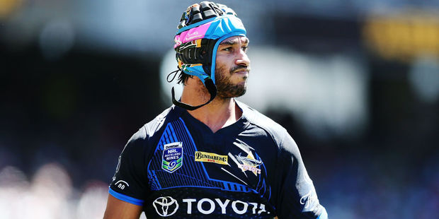 Johnathan Thurston of the Cowboys. Photo / Getty