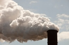 File photo of coal emissions from a plant. Photo / Getty