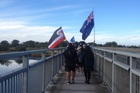 REFLECTION: A hikoi will end with a historical reenactment in Clive.