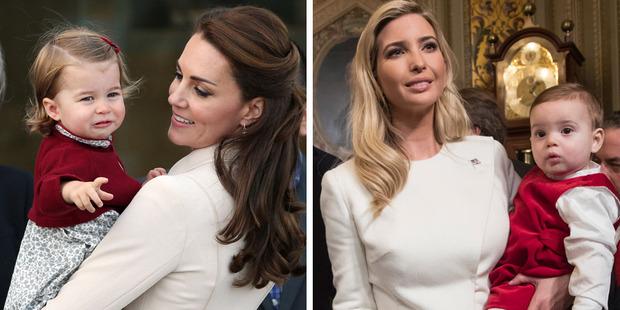 Kate Middleton has become a fan of Ivanka's long-time favourite designer, Oscar de la Renta. Photos / Getty
