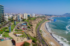 View of Miraflores Park, Lima. Photo / 123RF