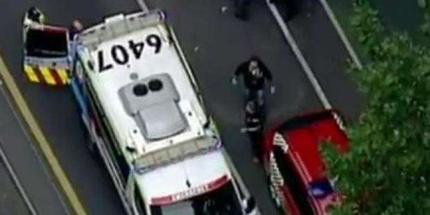 One person has been shot after an incident in Melbourne.