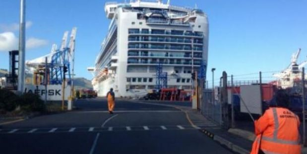 Loading A man has been killed in the the 5pm explosion at the wharf. Photo / Otago Daily Times