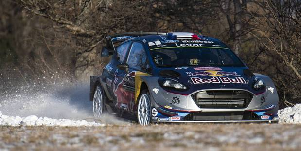 Rallying-Latvala sweeps to victory in Rally Sweden