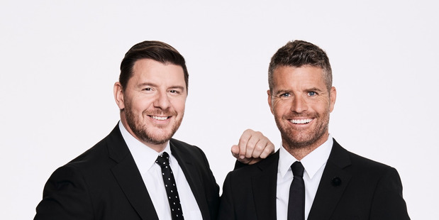 Chefs Manu Feildel and Pete Evans will arrive in New Zealand this month to start filming My Kitchen Rules NZ. Photo / supplied