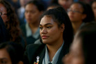 Dedicated: Wendy Savieti was one of three students who volunteered to take part in a documentary about Papakura High School.
