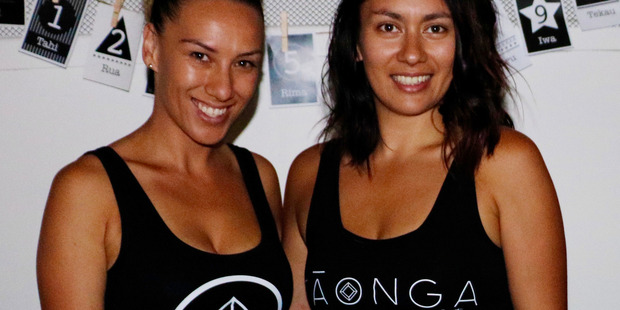 Tui-Kay Cole and Maria Hahipene have launched Taonga by TM, which offers educational resources to help teach te reo Maori. Photo / Supplied