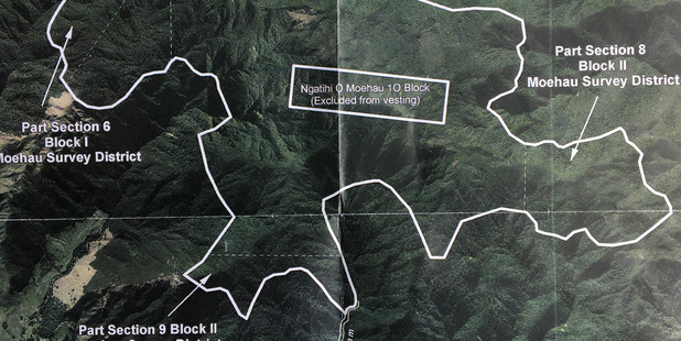 Map of the ownership. PHOTO/SUPPLIED