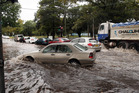 Sydney is lashed by storms and floods during a mid-morning summer storm. Photo / News Ltd